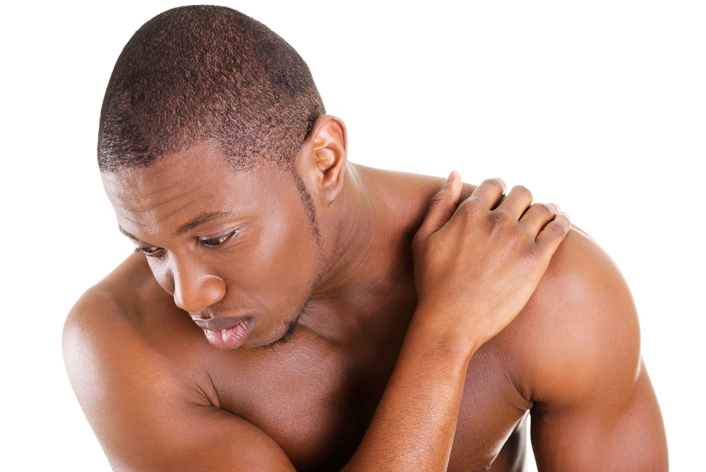 young man has shoulder pain in Altamonte Springs, FL